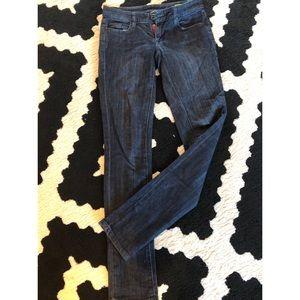 Blank nyc dark wash skinny jeans